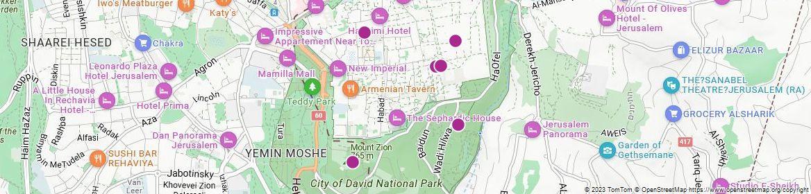 Points of Interest - Jerusalem