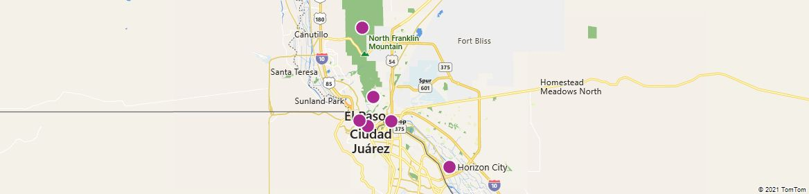 Points of Interest - El Paso