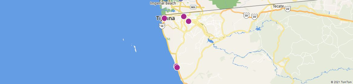 Points of Interest - Tijuana