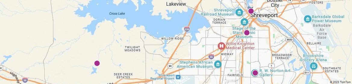 Points of Interest - Shreveport
