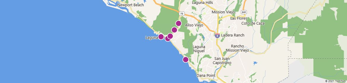Points of Interest - Laguna Beach