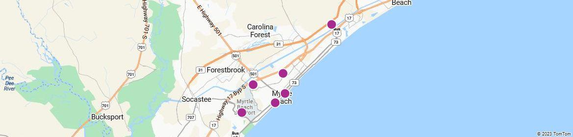 Points of Interest - Myrtle Beach