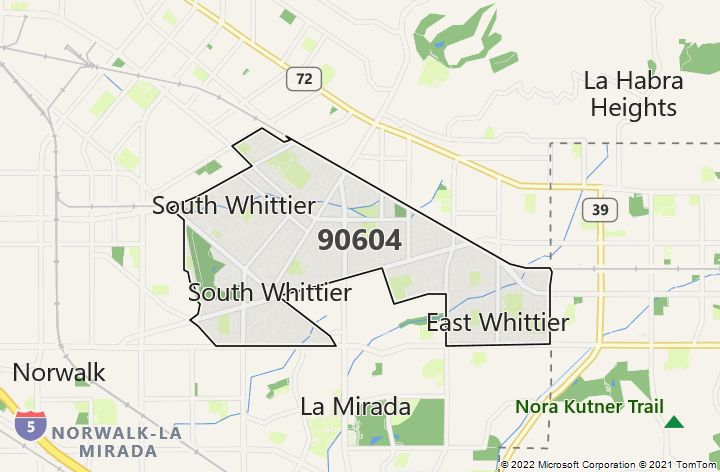 ZIP Code 90604 - Bing Zip Code Map For Southern California on zip code with map of cal, road map for southern california, weather for southern california, zip code map for southern nevada, area code map southern california, zip code map northern california, 919 zip code map southern california, zip code map southern cal, postal code map for southern california, zip code map for southern illinois,