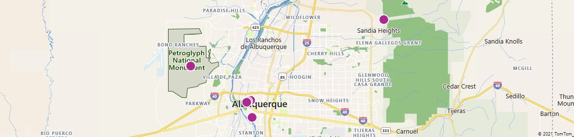 Points of Interest - Albuquerque