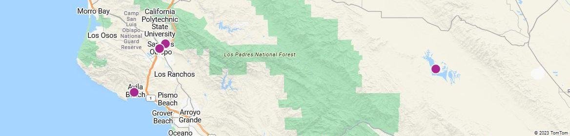 Points of Interest - San Luis Obispo