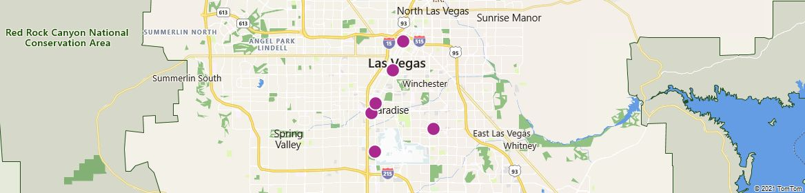 Points of Interest - Las Vegas