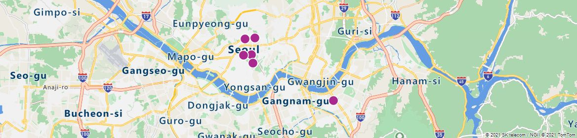 Points of Interest - Seoul