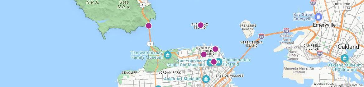 Points of Interest - San Francisco