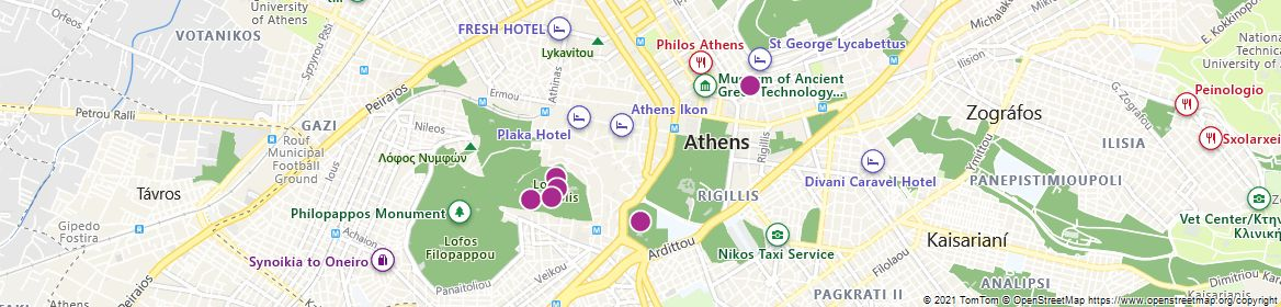 Points of Interest - Athens