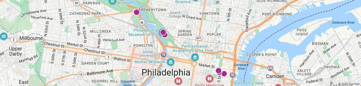 Points of Interest - Philadelphia