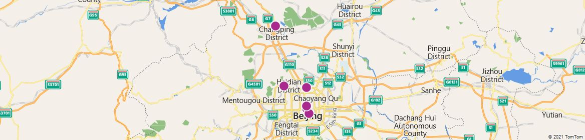 Points of Interest - Beijing