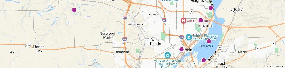 Points of Interest - Peoria