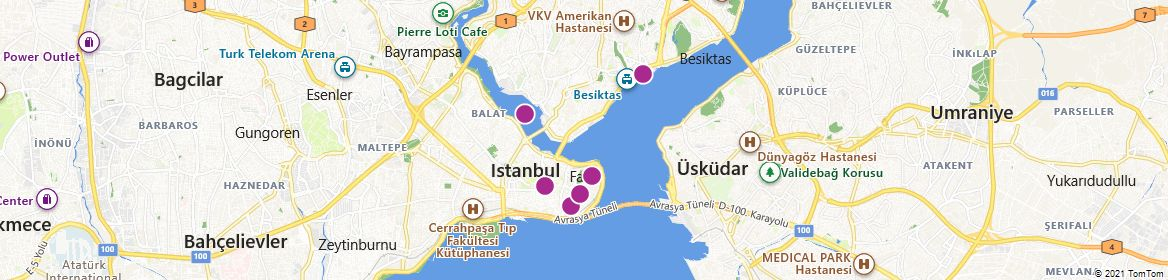 Points of Interest - Istanbul
