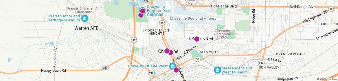 Points of Interest - Cheyenne