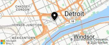 map of corktown detroit Corktown Detroit Mi Bing Maps map of corktown detroit