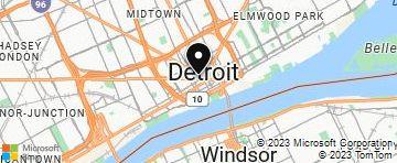 Downtown Detroit Mi Bing Maps