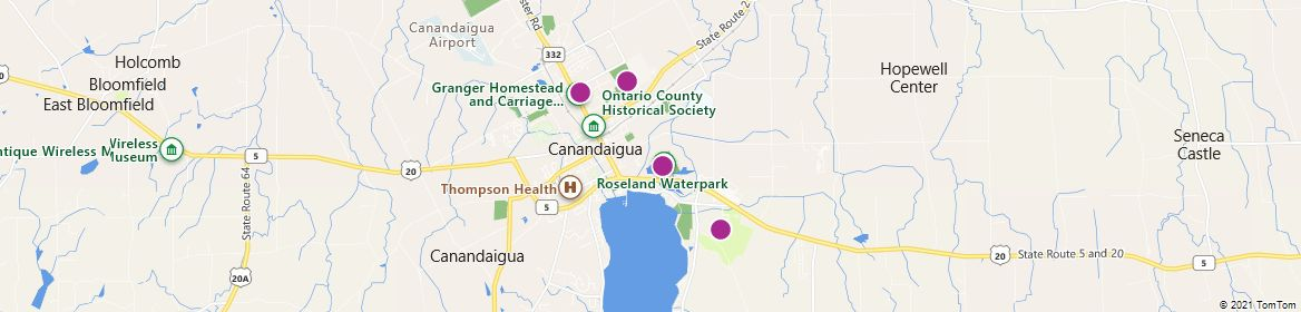 Points of Interest - Canandaigua
