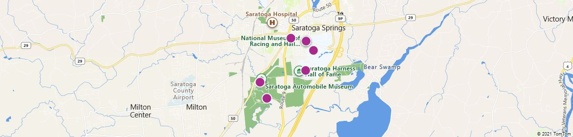 Points of Interest - Saratoga Springs