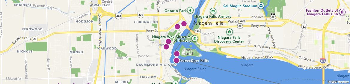 Points of Interest - Niagara Falls