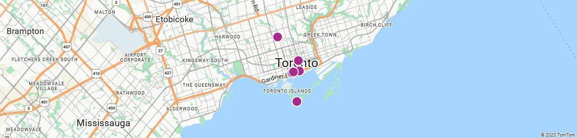 Points of Interest - Toronto