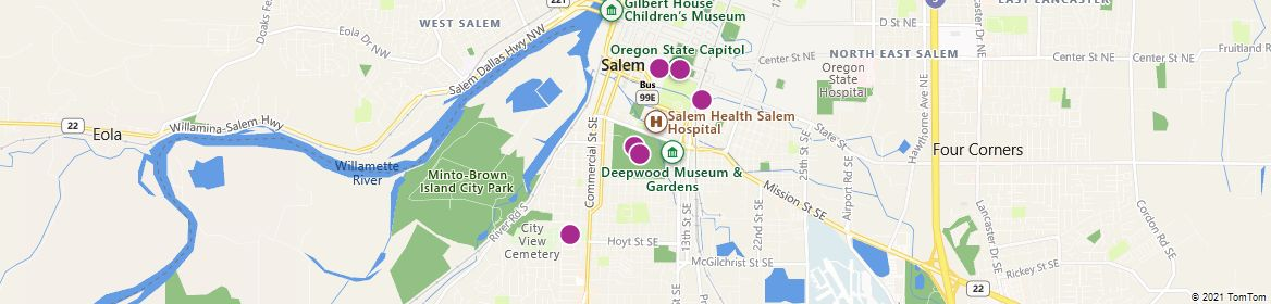 Points of Interest - Salem