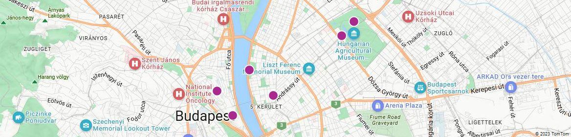 Points of Interest - Budapest