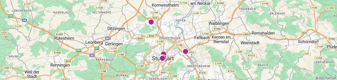 Points of Interest - Stuttgart