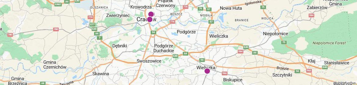Points of Interest - Kraków