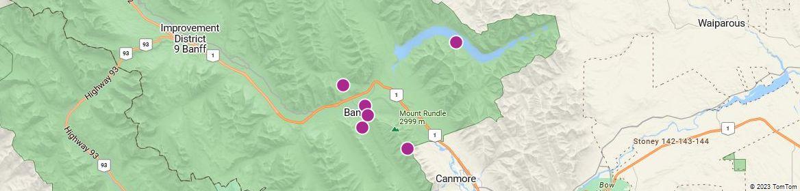 Points of Interest - Banff