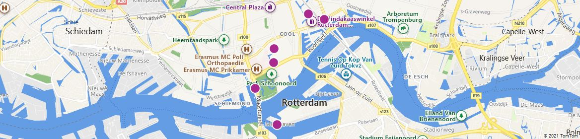 Points of Interest - Rotterdam