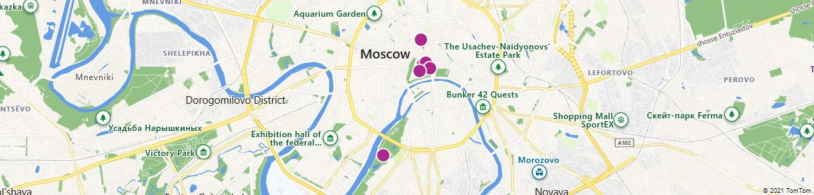 Points of Interest - Moscow