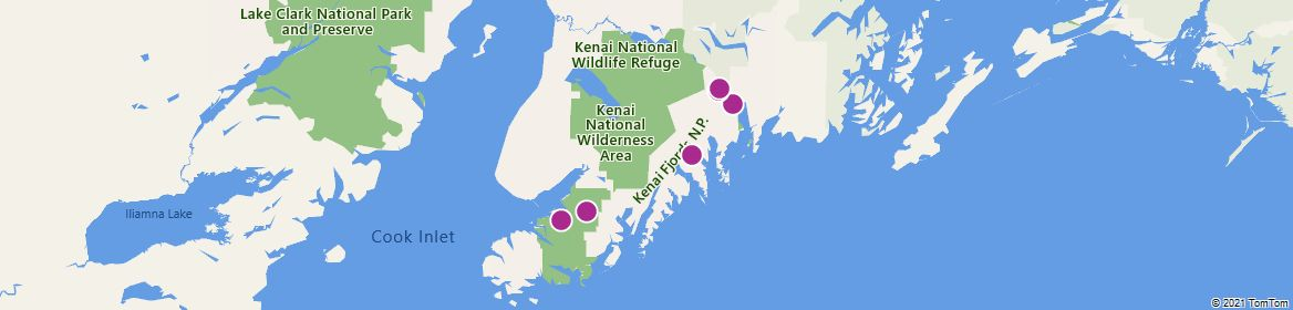 Points of Interest - Kenai Fjords National Park