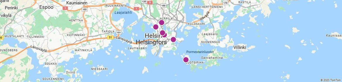Points of Interest - Helsinki