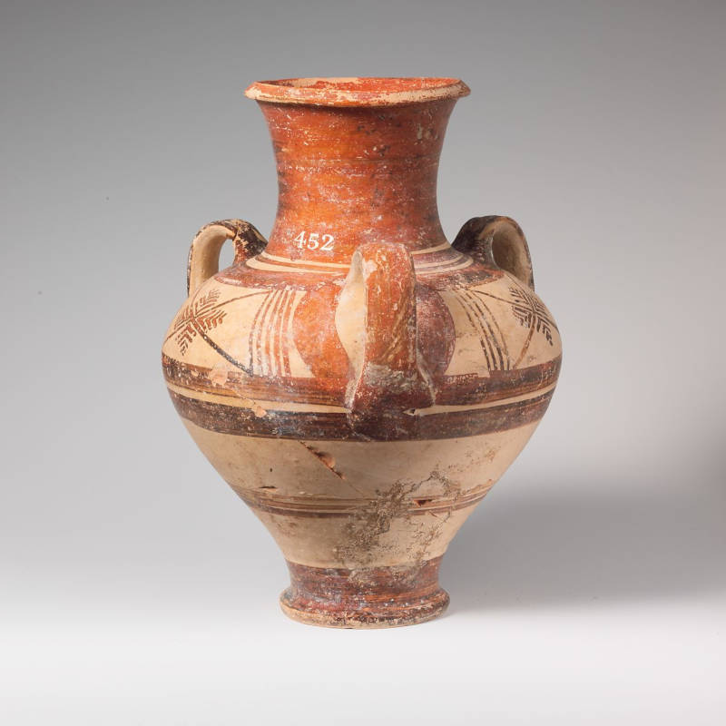Promoted image with Terracotta Pithoid Jar