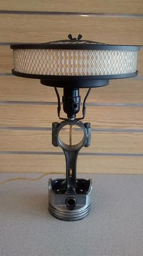 Image result for Piston Lamp
