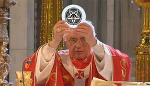 Image result for Evil Pope Pics