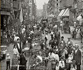 Image result for image italian ghetto america turn of the century