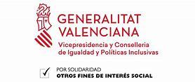 Resultado de imagen de  x solidario conselleria de igualdad y politicas irpf