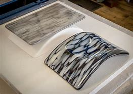 Image result for glass slumping molds in the kiln