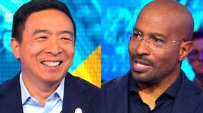 Image result for andrew yang & van jones, pic