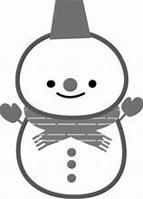 雪だるまのイラスト 無料 に対する画像結果