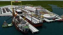 Resultado de imagem para indústria naval brasil