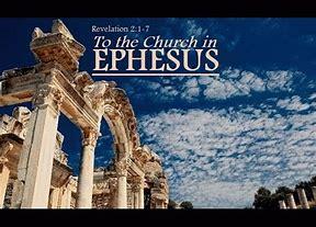 Image result for church of ephesus revelation