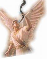 Image result for the 5th angel blows the trumpet gif