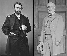 Image result for lee surrenders to grant at appomattox