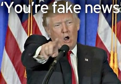 Image result for fake news trump