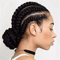 NAtural hair magazine (plaiting)