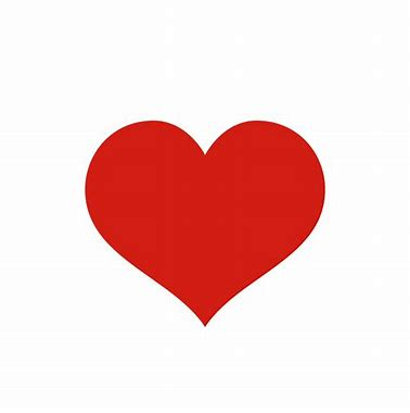 Image result for image of a red heart