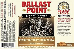 Image result for ballast point victory art sea peanut butter imperial porter