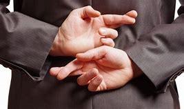 Image result for Fingers Crossed Behind Back